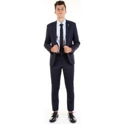 Υφασμάτινα Άνδρας Κοστούμια Manuel Ritz 2832A3109-203460 Blu