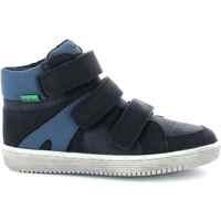 Παπούτσια Αγόρι Ψηλά Sneakers Kickers Chaussures enfant  Lohan noir/bleu