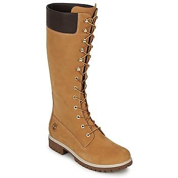 Παπούτσια Γυναίκα Μπότες για την πόλη Timberland WOMEN'S PREMIUM 14IN WP BOOT Cognac