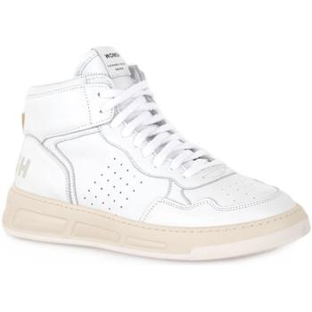 Παπούτσια Άνδρας Ψηλά Sneakers Womsh SUPER WHITE Bianco