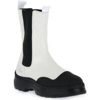 Παπούτσια Γυναίκα Μποτίνια Womsh VEGAN JUMP WHITE Bianco