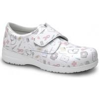 Παπούτσια Μοκασσίνια Feliz Caminar ZAPATO SANITARIO UNISEX ATOM Άσπρο