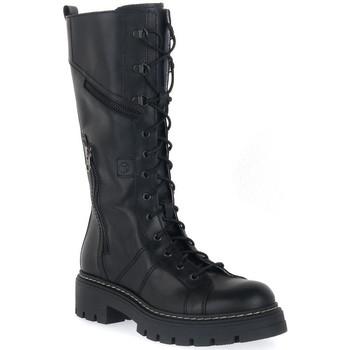 Παπούτσια Αγόρι Μπότες για την πόλη NeroGiardini NERO GIARDINI  MANAUS NERO Nero