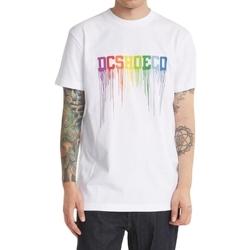 Υφασμάτινα Άνδρας Αμάνικα / T-shirts χωρίς μανίκια DC Shoes Dc Drip άσπρο