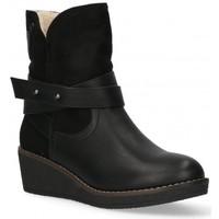 Παπούτσια Γυναίκα Μποτίνια Etika 55086 black