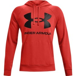 Υφασμάτινα Άνδρας Φούτερ Under Armour Rival Fleece Big Logo το κόκκινο