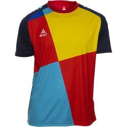Υφασμάτινα Αγόρι T-shirt με κοντά μανίκια Select T-shirt enfant  Player Pop Art bleu/jaune/rouge
