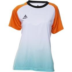 Υφασμάτινα Γυναίκα T-shirt με κοντά μανίκια Select T-shirt femme  Player Femina orange/blanc/vert