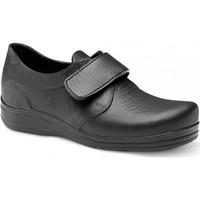 Παπούτσια Άνδρας Χαμηλά Sneakers Feliz Caminar ZAPATO SANITARIO VELCRO UNISEX FLOTANTES VELCRO Black