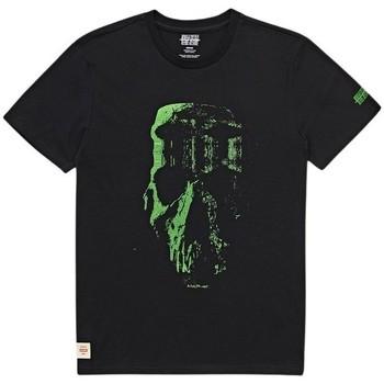 Υφασμάτινα Άνδρας T-shirt με κοντά μανίκια Globe T-shirt  Refuse Skull noir