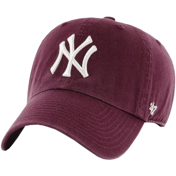 Αξεσουάρ Άνδρας Κασκέτα 47 Brand New York Yankees MLB Clean Up Cap Bordeaux