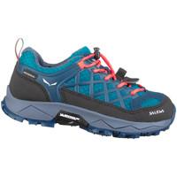 Παπούτσια Παιδί Πεζοπορίας Salewa Jr Wildfire Wp 64009-8641 blue