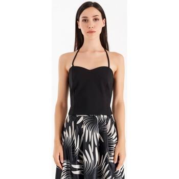 Υφασμάτινα Γυναίκα Μπλούζες Rinascimento CFC0105101003 Μαύρος