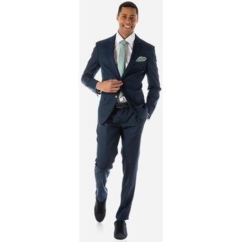 Υφασμάτινα Άνδρας Κοστούμια Sogo ΑΝΔΡΙΚΟ ΚΟΣΤΟΥΜΙ ΚΑΝΟΝΙΚΟ Μπλε