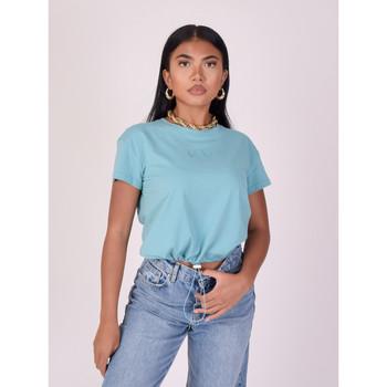 Υφασμάτινα Γυναίκα T-shirt με κοντά μανίκια Project X Paris  Green