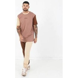 Υφασμάτινα Άνδρας T-shirt με κοντά μανίκια Sixth June T-shirt  Tricolor Regular beige