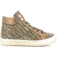 Παπούτσια Παιδί Ψηλά Sneakers Alberto Guardiani GK22950G καφέ