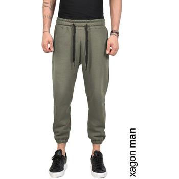 Υφασμάτινα Άνδρας Παντελόνια Xagon Man  Green