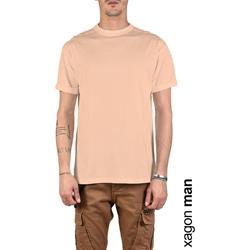 Υφασμάτινα Άνδρας T-shirt με κοντά μανίκια Xagon Man  Ροζ
