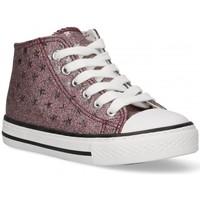 Παπούτσια Κορίτσι Ψηλά Sneakers Bubble 58907 ροζ