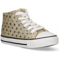 Παπούτσια Κορίτσι Ψηλά Sneakers Bubble 58908 gold