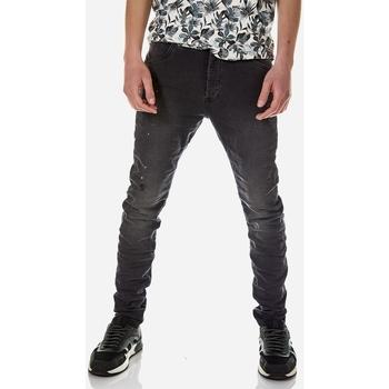 Υφασμάτινα Άνδρας Jeans Brokers ΑΝΔΡΙΚΟ ΠΑΝΤΕΛΟΝΙ JEAN Μαύρο