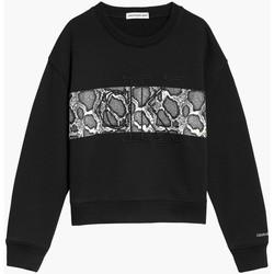 Υφασμάτινα Κορίτσι Φούτερ Calvin Klein Jeans IG0IG01201 Nero