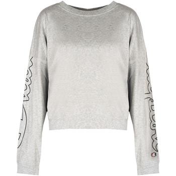 Υφασμάτινα Γυναίκα Μπλουζάκια με μακριά μανίκια Champion  Grey