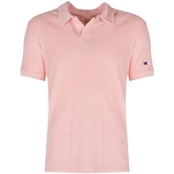 Υφασμάτινα Άνδρας Πόλο με κοντά μανίκια  Champion  Ροζ