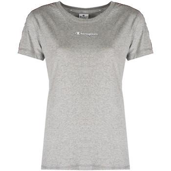 Υφασμάτινα Γυναίκα T-shirt με κοντά μανίκια Champion  Grey