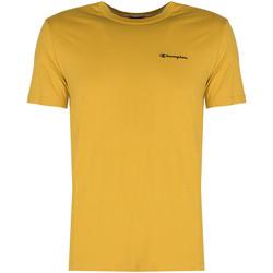 Υφασμάτινα Άνδρας T-shirt με κοντά μανίκια Champion  Yellow