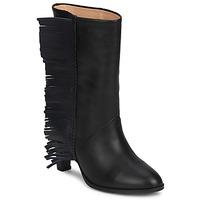 Παπούτσια Γυναίκα Μπότες για την πόλη MySuelly GAD Black