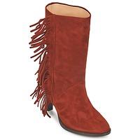 Παπούτσια Γυναίκα Μπότες για την πόλη MySuelly GAD Rouille