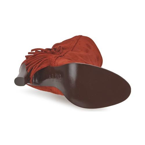 GAD  MySuelly  μπότες για την πόλη  woman  rouille