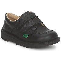 Παπούτσια Παιδί Χαμηλά Sneakers Kickers KICK LO VELCRO Black
