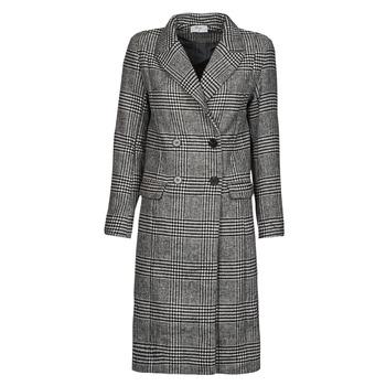 Υφασμάτινα Γυναίκα Παλτό Betty London PIXIE Black / Grey