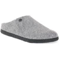 Παπούτσια Παντόφλες Birkenstock ZERMATT GREY WOOL FELT CALZ N Grigio