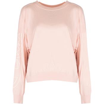 Υφασμάτινα Γυναίκα Μπλουζάκια με μακριά μανίκια Champion  Ροζ