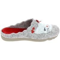 Παπούτσια Γυναίκα Παντόφλες Boissy JH65458 Gris Grey