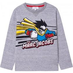 Υφασμάτινα Αγόρι Μπλουζάκια με μακριά μανίκια Marc Jacobs 92952110 Grigio