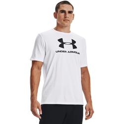 Υφασμάτινα Άνδρας Αμάνικα / T-shirts χωρίς μανίκια Under Armour Ua Sportstyle Logo άσπρο