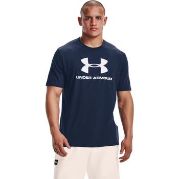 Υφασμάτινα Άνδρας Πόλο με κοντά μανίκια  Under Armour Ua Sportstyle Logo Μπλε