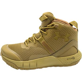 Παπούτσια Άνδρας Μπότες Under Armour Micro G Valsetz Mid καφέ