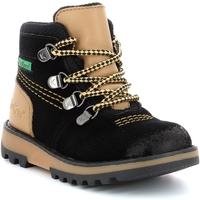 Παπούτσια Αγόρι Μπότες Kickers Chaussures enfant  Kicknature noir/jaune