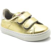 Παπούτσια Κορίτσι Χαμηλά Sneakers Cienta Chaussures fille  Deportivo Scractch Laminado doré