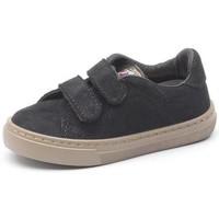 Παπούτσια Κορίτσι Sneakers Cienta Chaussures fille  Deportivo Velcro On Suede noir