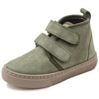 Παπούτσια Κορίτσι Ψηλά Sneakers Cienta Bottines fille  Doble Velcro On Napa vert kaki