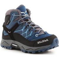 Παπούτσια Παιδί Πεζοπορίας Salewa Jr Alp Trainer Mid GTX 64010-0365 blue
