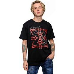 Υφασμάτινα Άνδρας T-shirt με κοντά μανίκια Givenchy BMWZ3002 Black