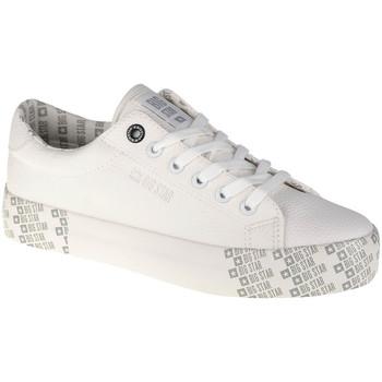 Παπούτσια Γυναίκα Χαμηλά Sneakers Big Star Shoes Blanc